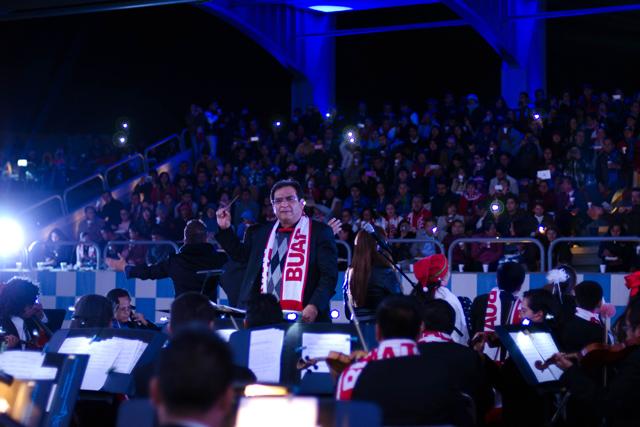 Con concierto navideño, la BUAP despide el 2017
