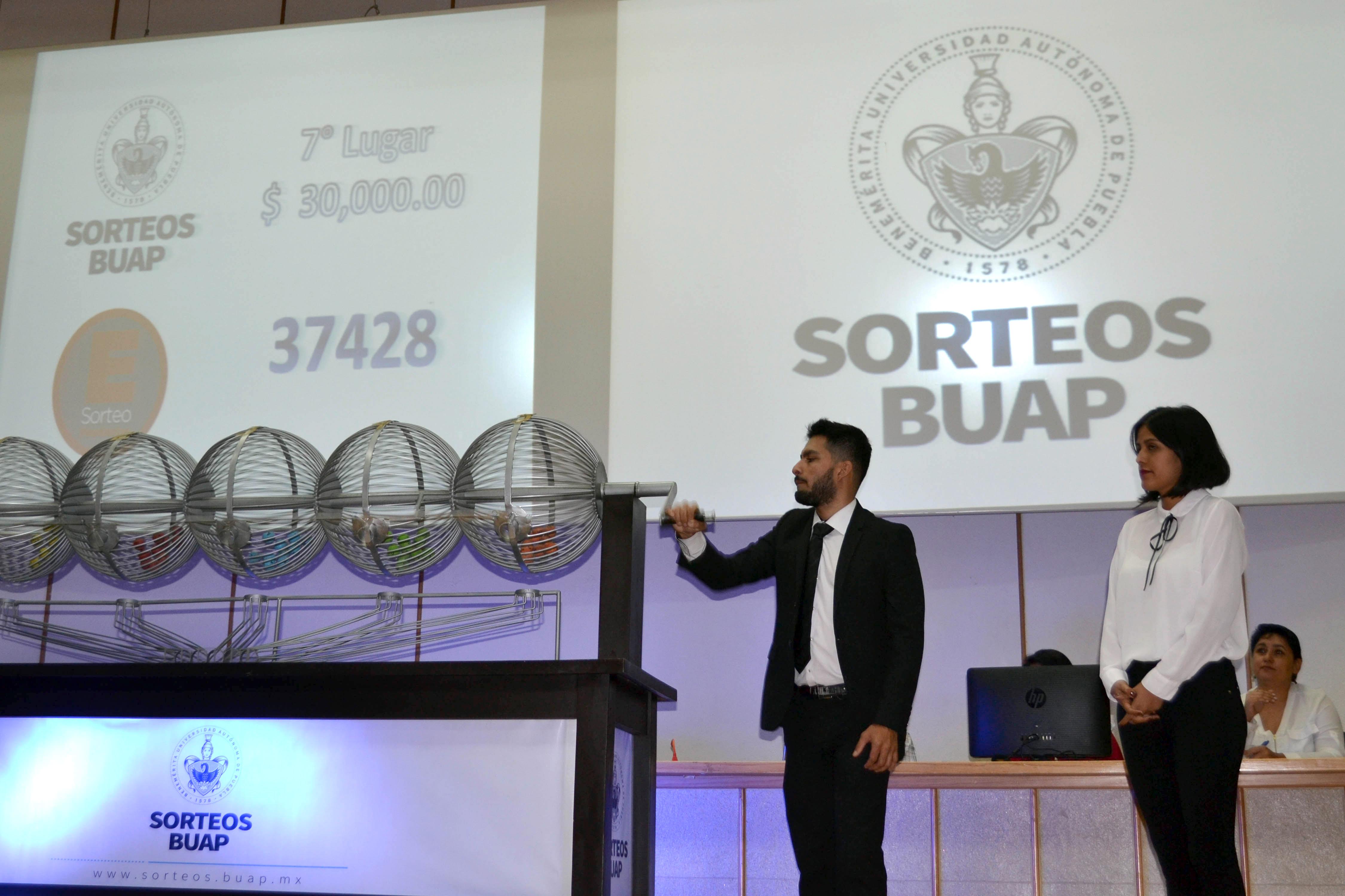 Resultado de imagen para Sorteos BUAP premia el esfuerzo de estudiantes y trabajadores de la Institución